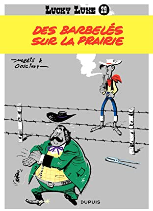 Lucky Luke Tome 29: DES BARBELES SUR LA PRAIRIE