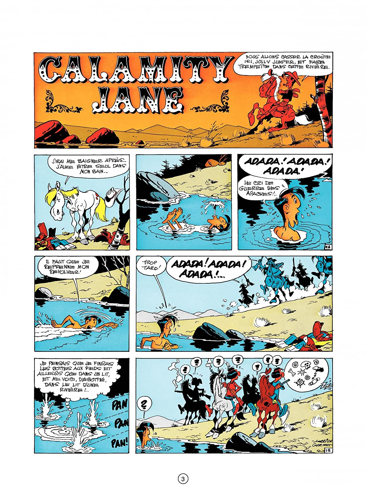 Lucky Luke Vol. 30: CALAMITY JANE