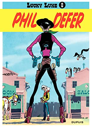 Lucky Luke Tome 8: PHIL DEFER