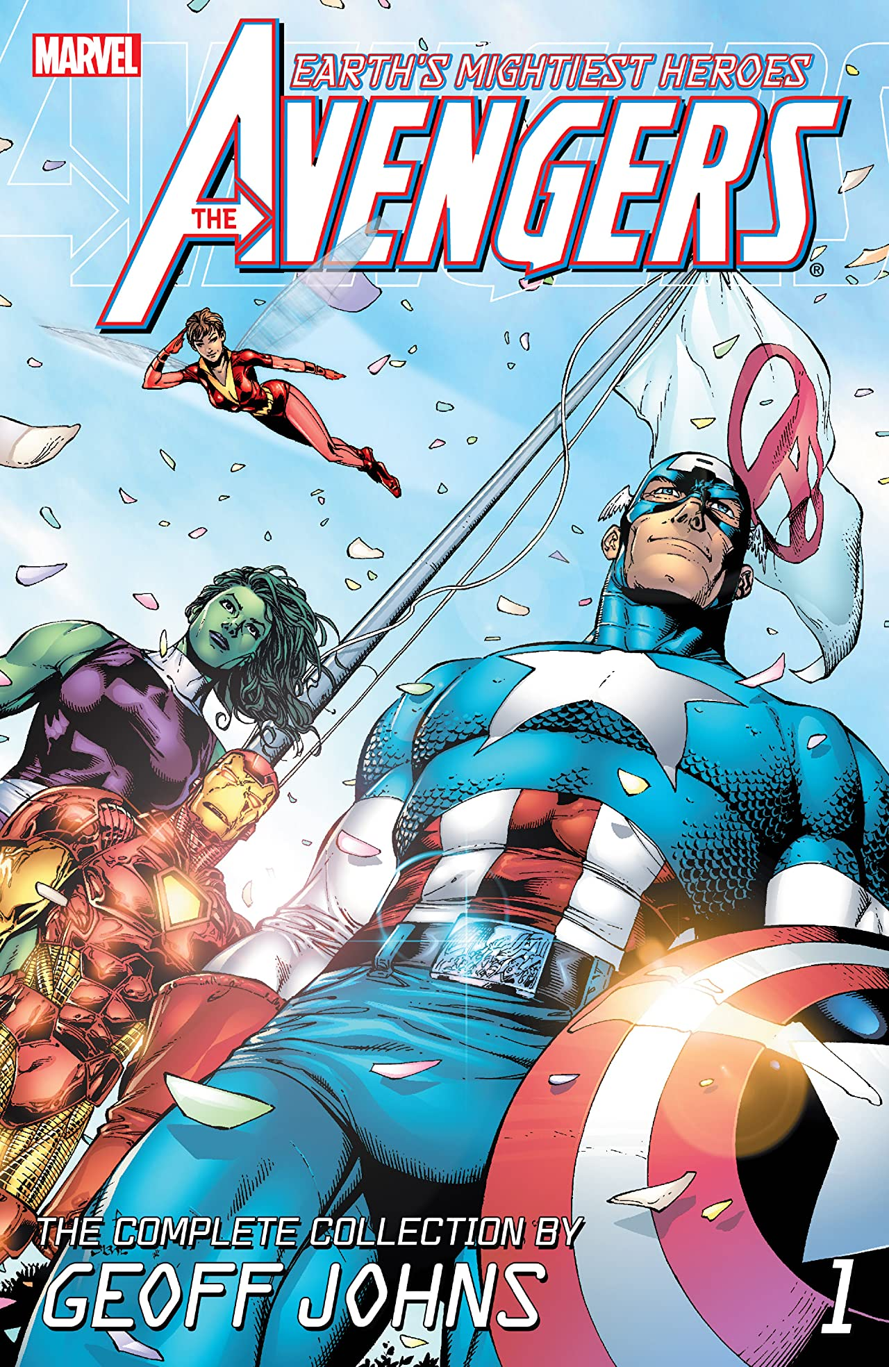 Avengers: The Complete Collection by Geoff Johns Vol. 1