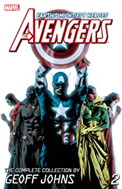 Avengers: The Complete Collection by Geoff Johns Vol. 2