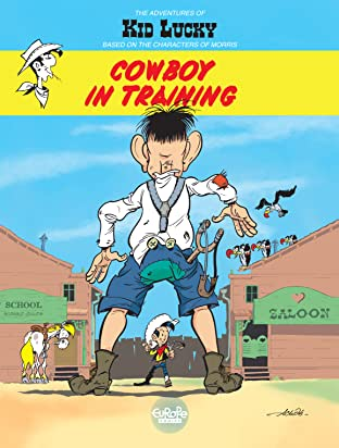 Kid Lucky Tome 1: Cowboy in training