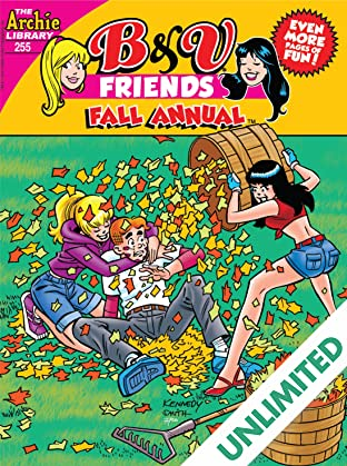 B & V Friends Comics Double Digest #255