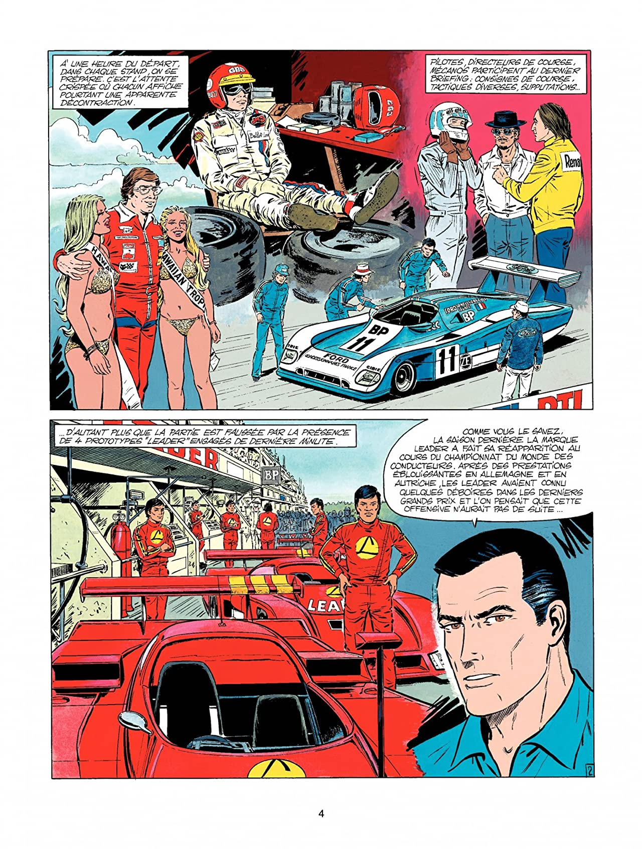 Michel Vaillant Vol. 36: Un pilote a disparu