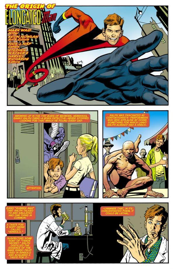 The Origin of Elongated Man #1