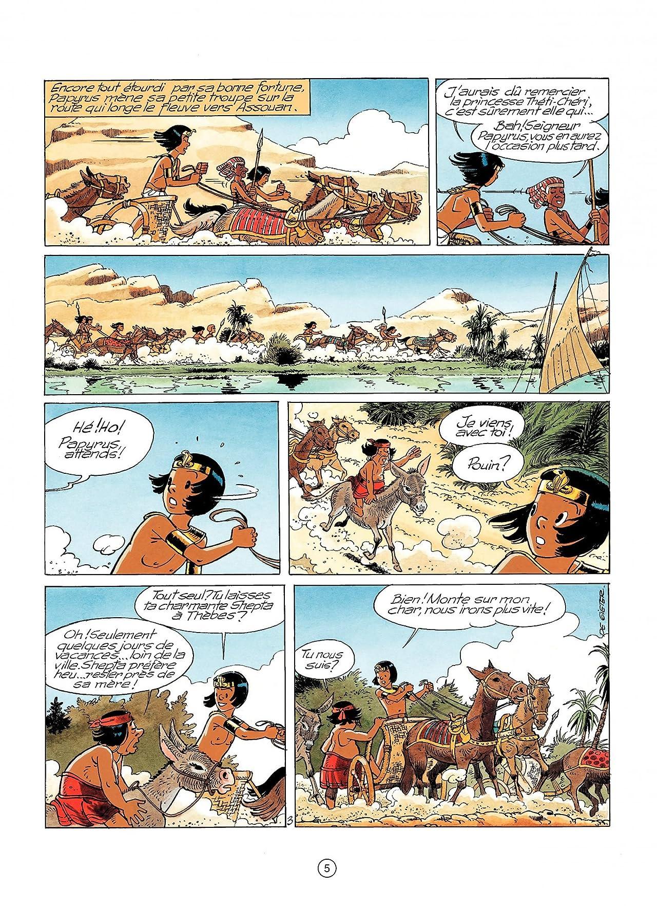 Papyrus Vol. 28: Les enfants d'Isis