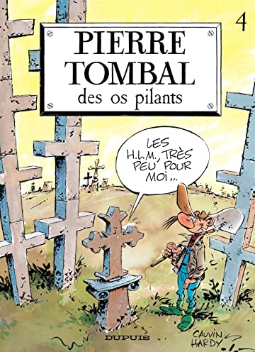 Pierre Tombal Vol. 4: Des os pilants