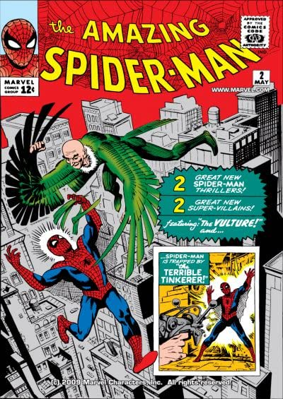 Amazing Spider-Man #002