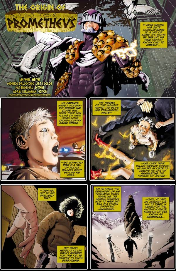 The Origin of Prometheus #1