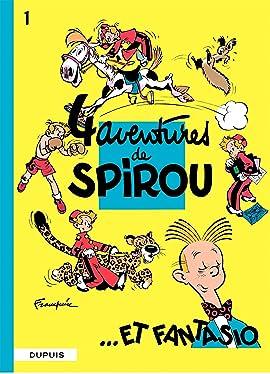 Spirou et Fantasio Vol. 1: 4 AVENTURES DE SPIROU ET FANTASIO