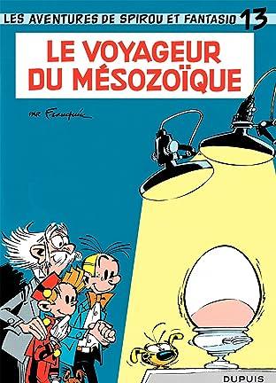 Spirou et Fantasio Vol. 13: LE VOYAGEUR DU MESOZOIQUE