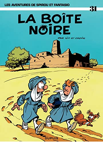 Spirou et Fantasio Vol. 31: LA BOITE NOIRE