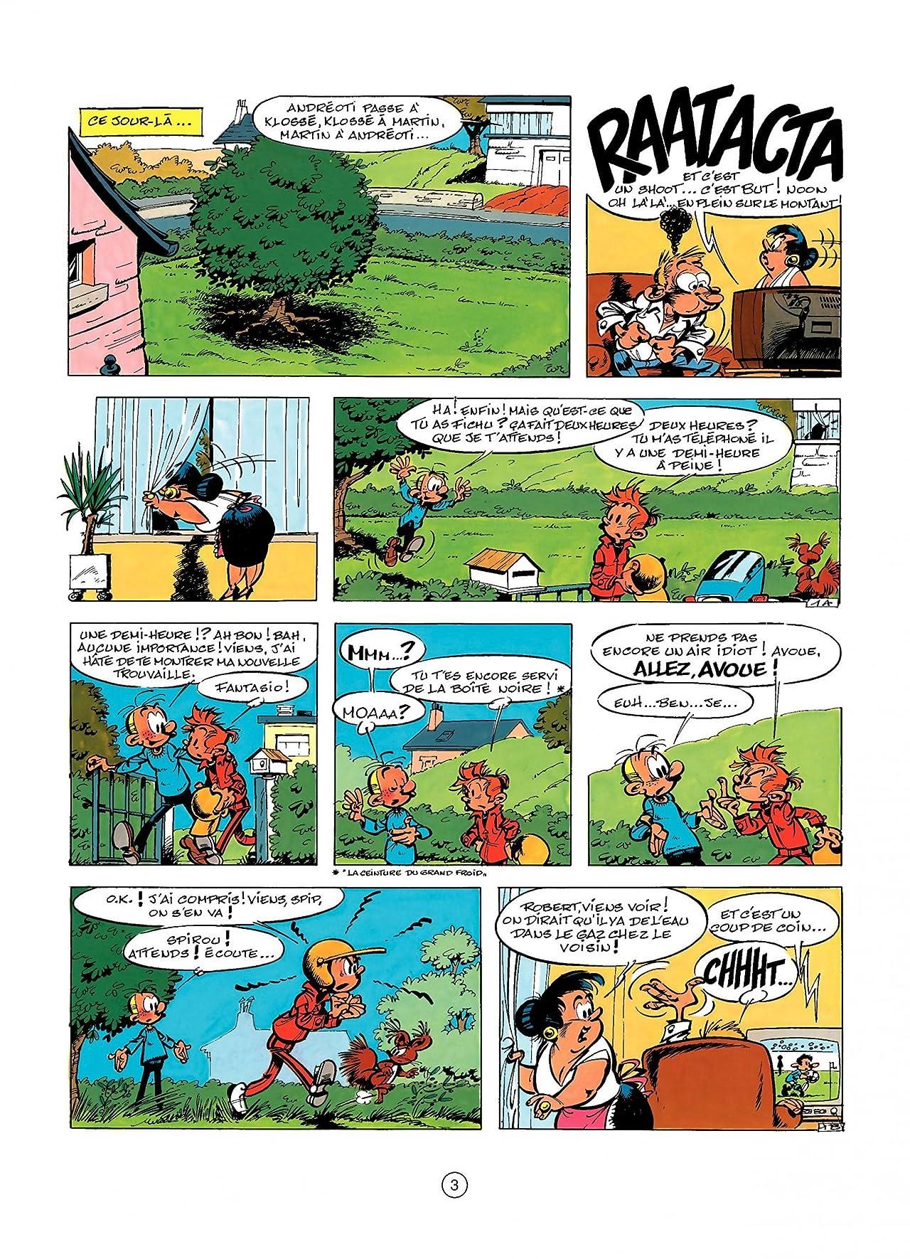 Spirou et Fantasio Vol. 32: LES FAISEURS DE SILENCE