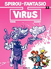 Spirou et Fantasio Vol. 33: VIRUS