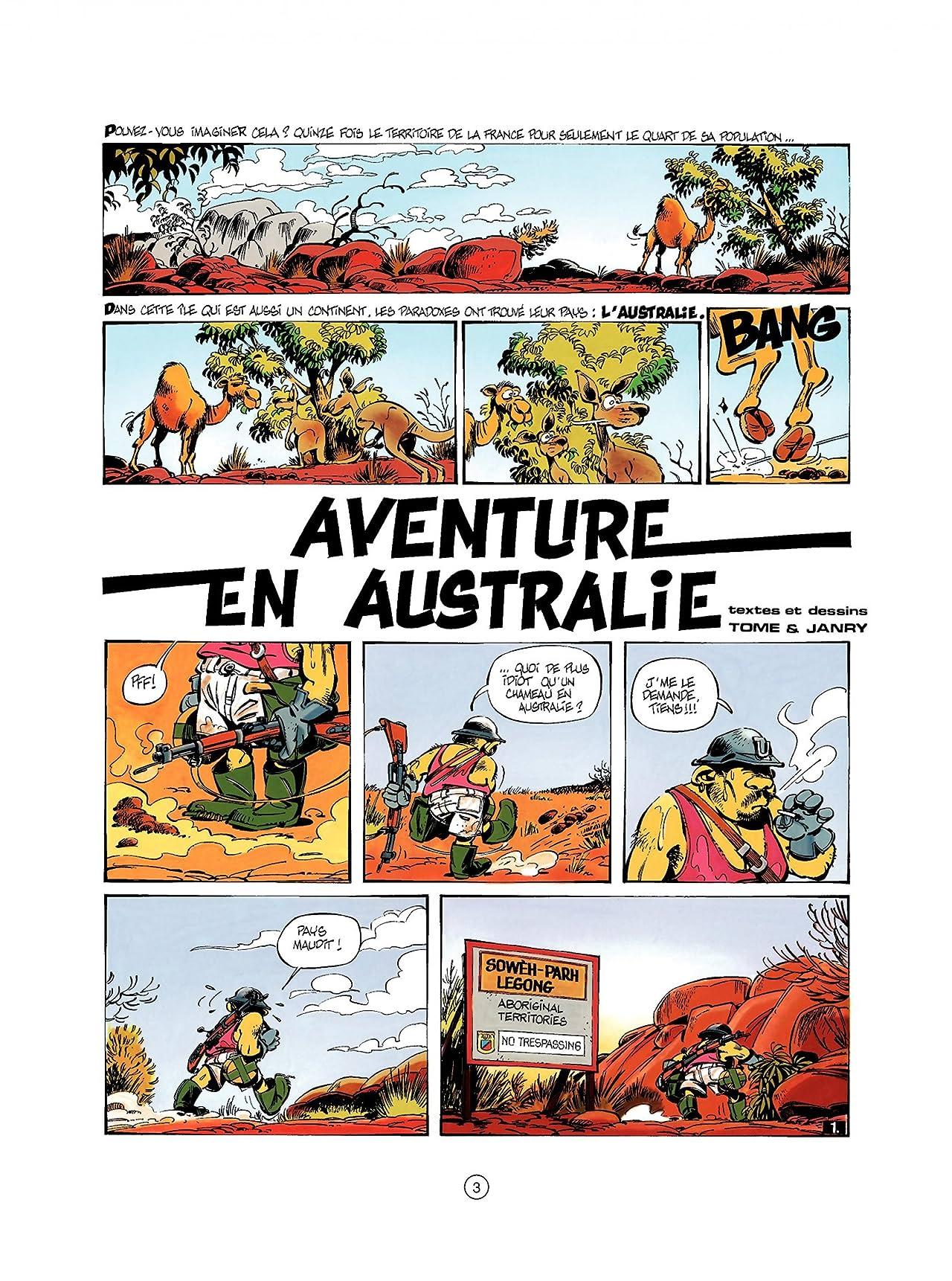Spirou et Fantasio Vol. 34: AVENTURE EN AUSTRALIE