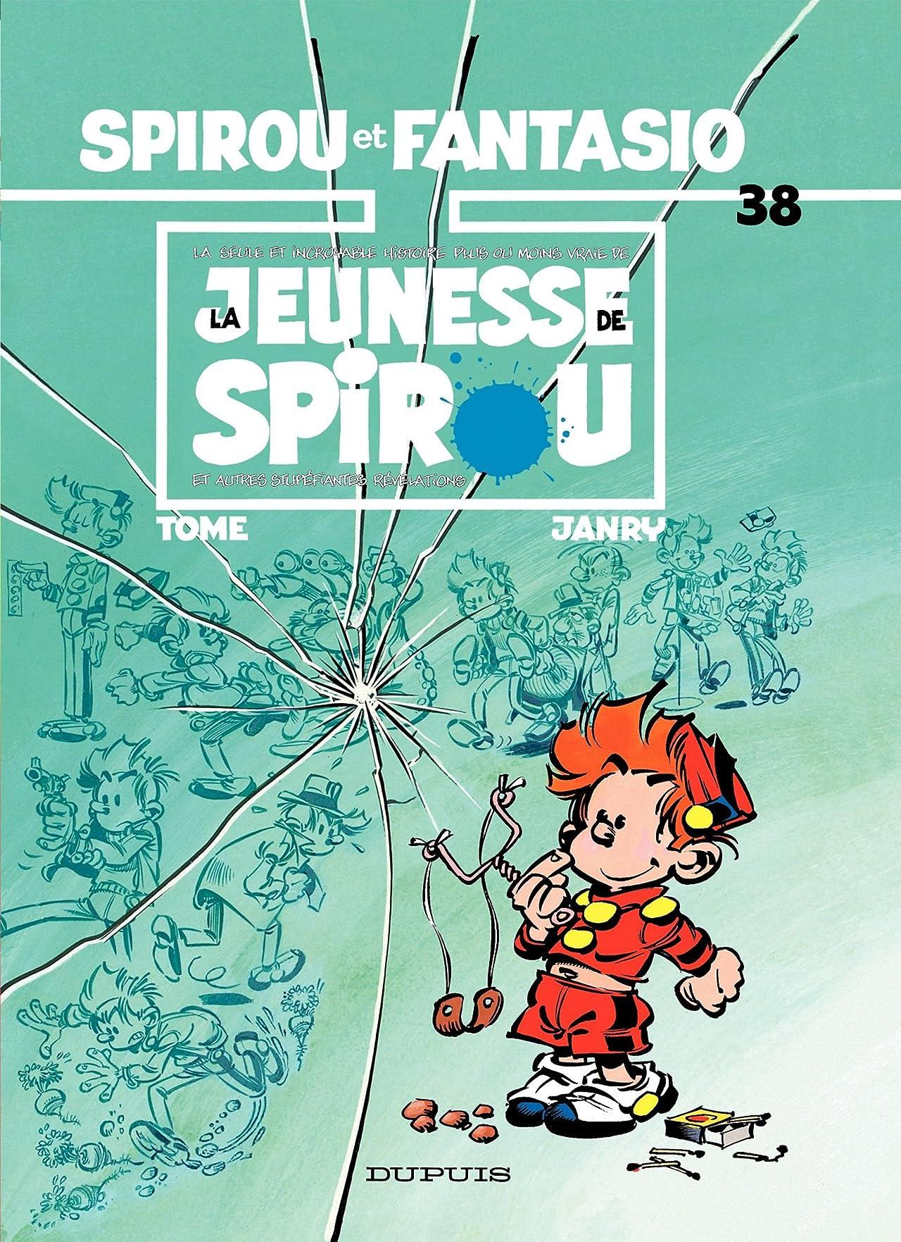 Spirou et Fantasio Vol. 38: LA JEUNESSE DE SPIROU