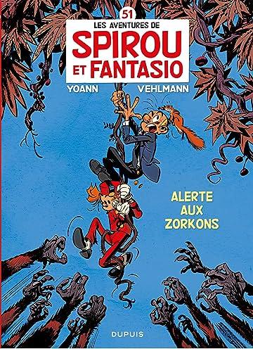 Spirou et Fantasio Vol. 51: Alerte aux Zorkons (pour Leclerc)