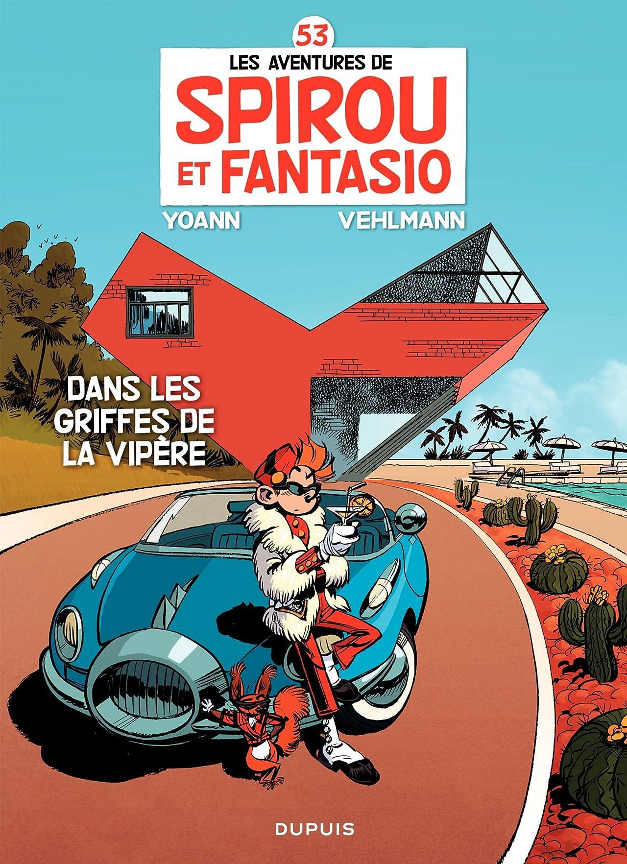 Spirou et Fantasio Vol. 53: Dans les griffes de la Vipère