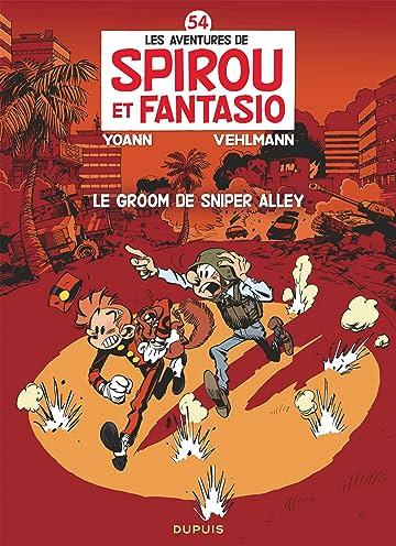 Spirou et Fantasio Vol. 54: Le groom de Sniper Alley