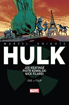 Marvel Knights: Hulk (2013-) #1 (of 4)