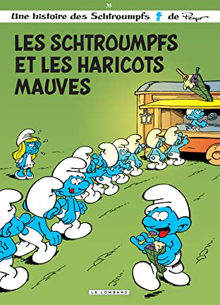 Les Schtroumpfs Vol. 35: Les Schtroumpfs et les haricots mauves