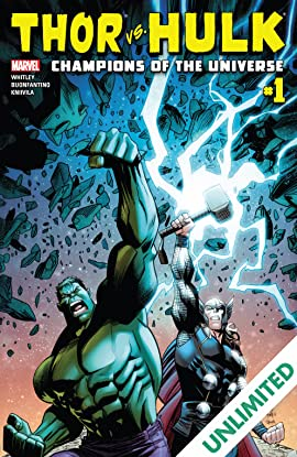 Thor vs. Hulk: Champions of the Universe (2017) #1 (of 6)