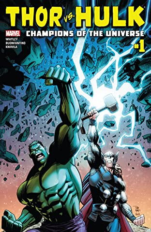 Thor vs. Hulk: Champions of the Universe (2017) No.1 (sur 6)