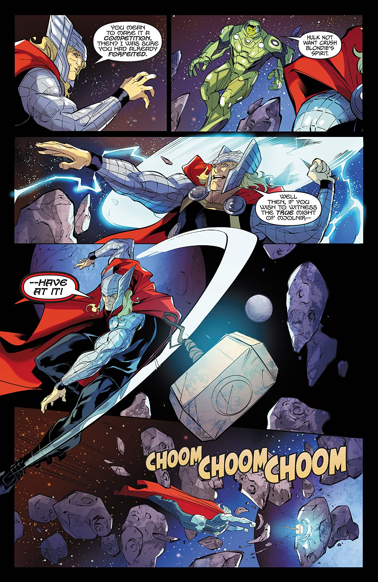thor vs hulk champions of the universe 2017 1 of 6 comics