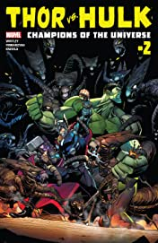 Thor vs. Hulk: Champions of the Universe (2017) #2 (of 6)