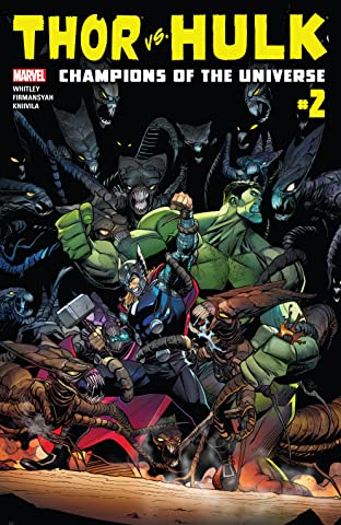 Thor vs. Hulk: Champions of the Universe (2017) No.2 (sur 6)