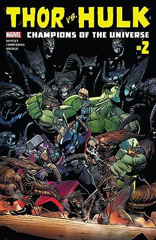 Thor vs. Hulk: Champions of the Universe (2017) #2 (of 6)