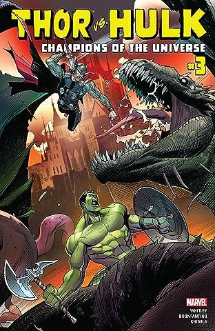 Thor vs. Hulk: Champions of the Universe (2017) #3 (of 6)