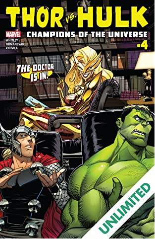 Thor vs. Hulk: Champions of the Universe (2017) #4 (of 6)