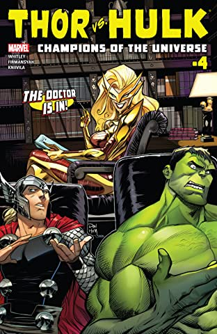 Thor vs. Hulk: Champions of the Universe (2017) No.4 (sur 6)