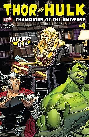 Thor vs. Hulk: Champions of the Universe (2017) #4 (of 6)