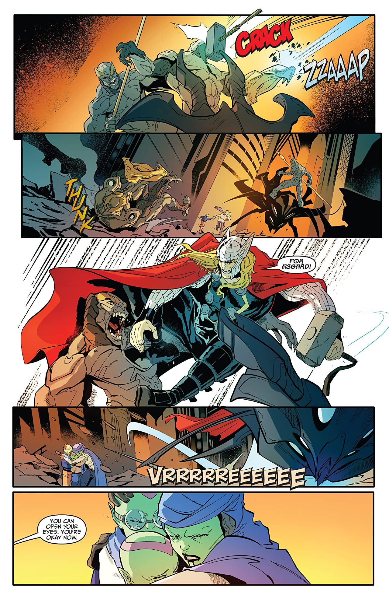 Thor vs. Hulk: Champions of the Universe (2017) #5 (of 6)