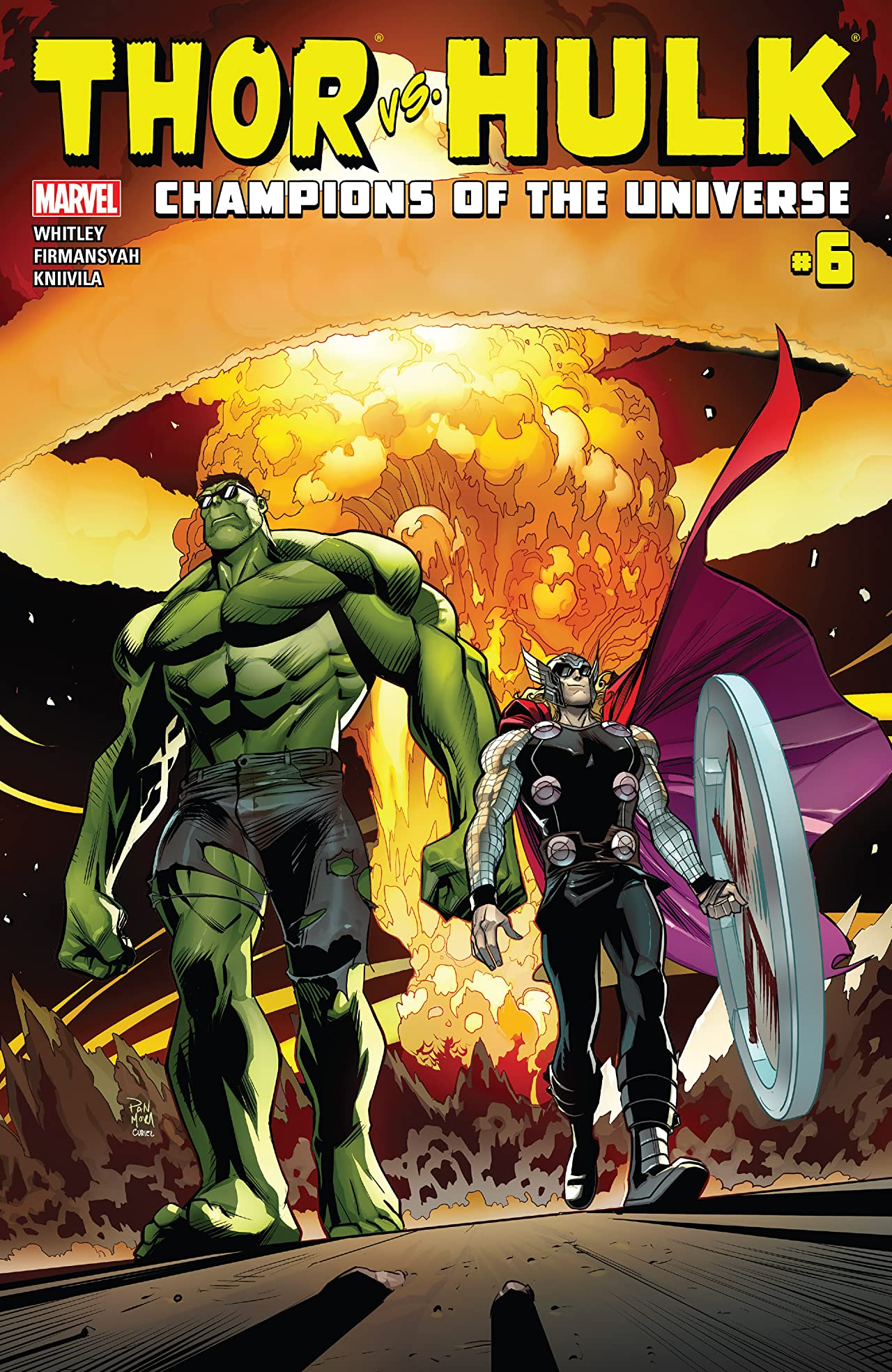 Thor vs. Hulk: Champions of the Universe (2017) #6 (of 6)