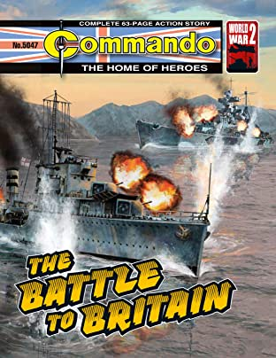 Commando #5047: The Battle To Britain
