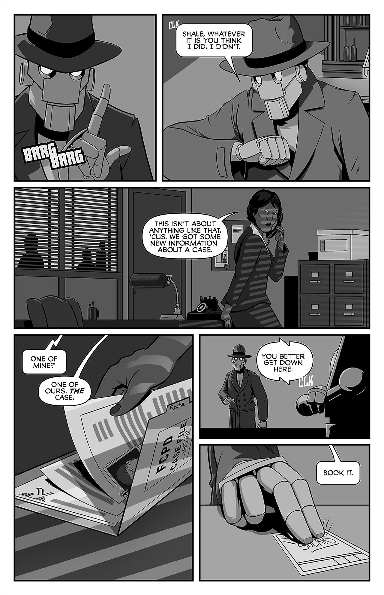 Copernicus Jones: Robot Detective #8