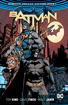 Batman: The Rebirth Deluxe Edition - Book 1
