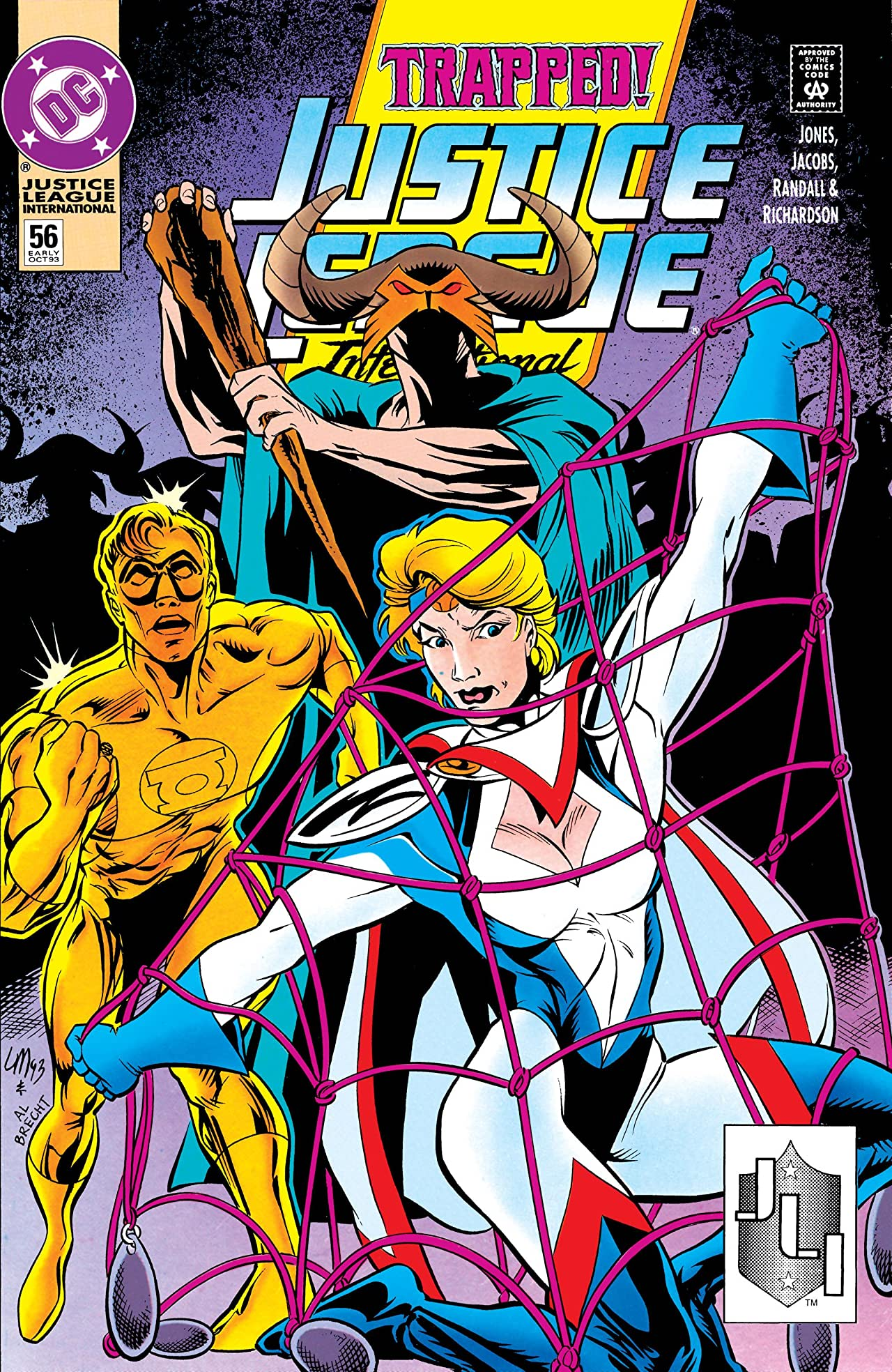Justice League International (1989-1993) #56