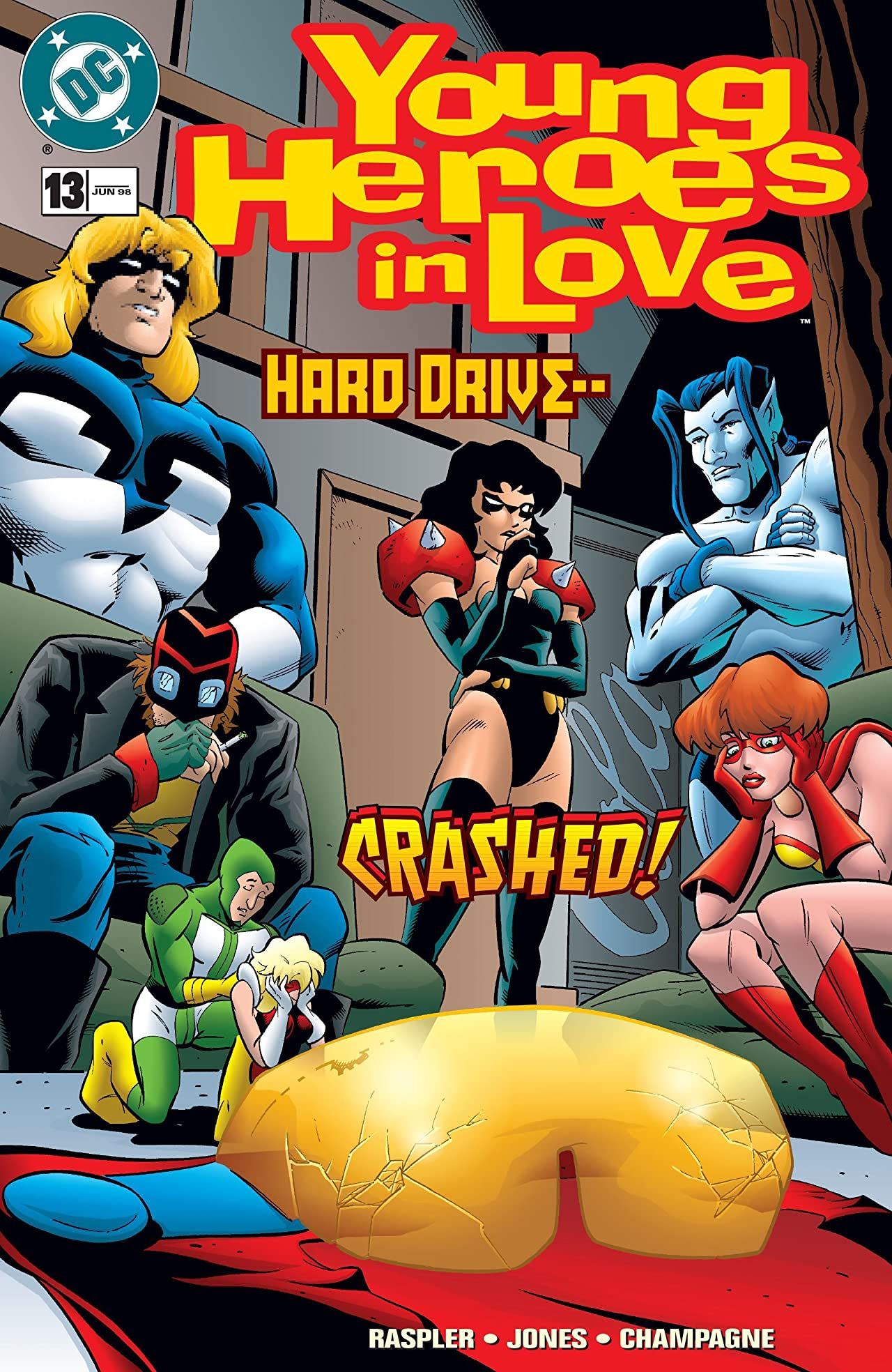 Young Heroes in Love (1997-1998) #13