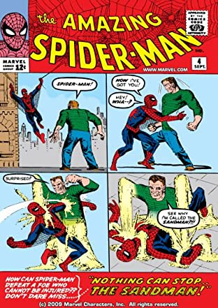 Amazing Spider-Man (1963-1998) No.4