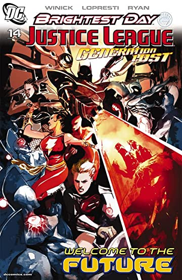 Justice League: Generation Lost #14