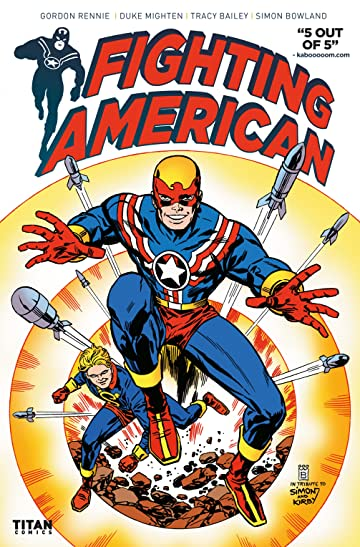 Fighting American #2