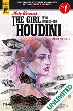 Minky Woodcock: The Girl who Handcuffed Houdini #1