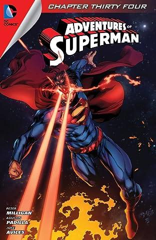 Adventures of Superman (2013-2014) #34