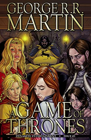 George R.R. Martin's A Game Of Thrones: The Comic Book No.5