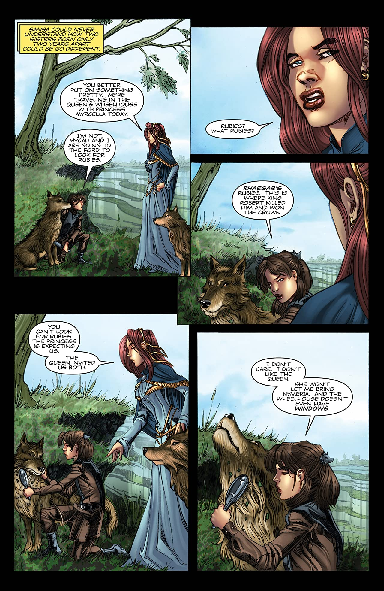 George R.R. Martin's A Game Of Thrones: The Comic Book #5