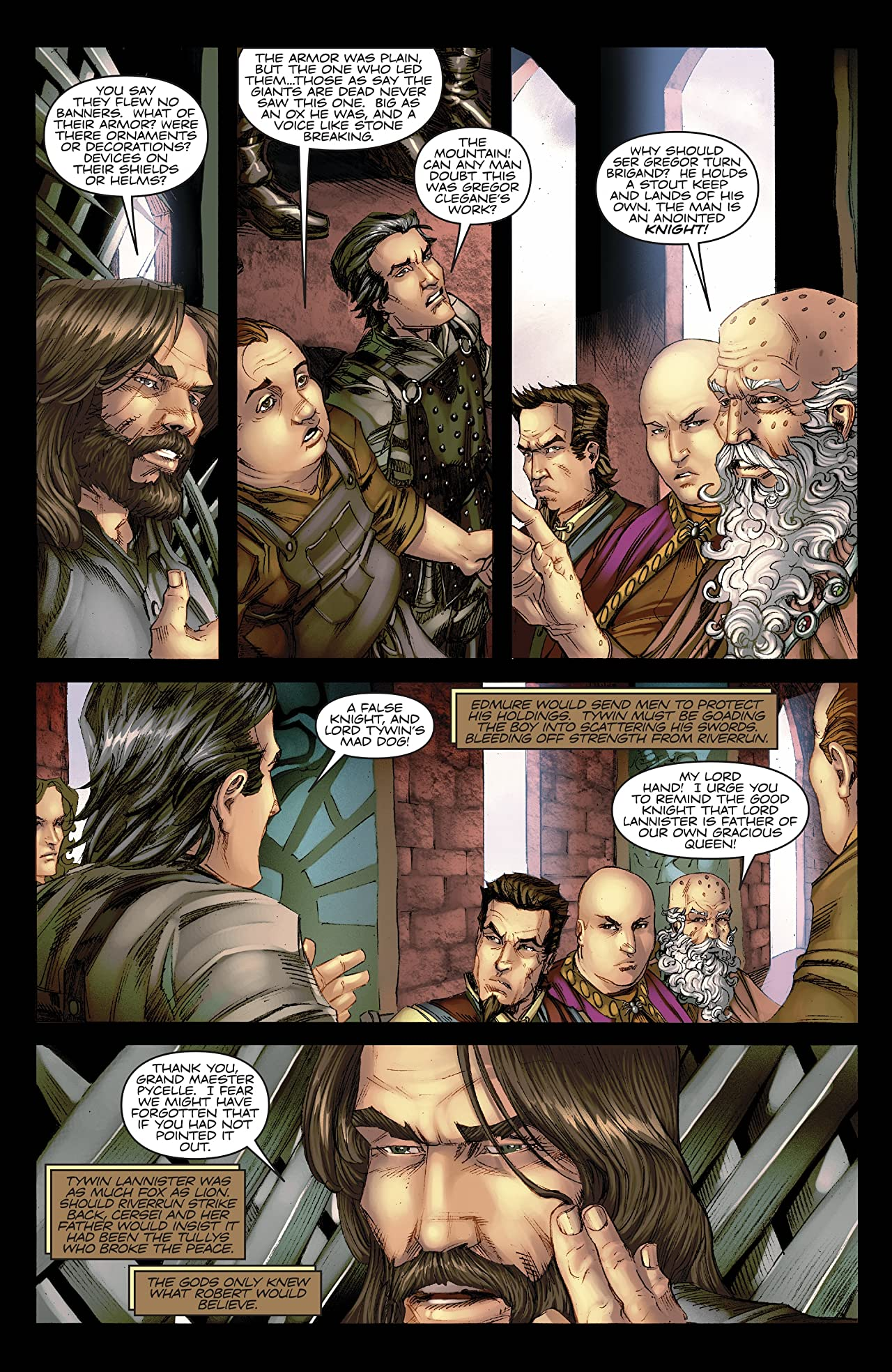 George R.R. Martin's A Game Of Thrones: The Comic Book No.14